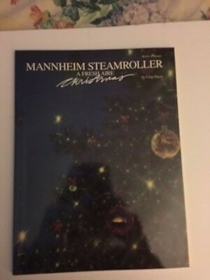 MANNHEIM STEAMROLLER A Fresh Aire CHRISTMAS by Chip Davis NEW Book Solo Piano