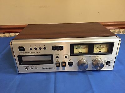 Panasonic RS-808 8 Track Player/Recorder Serviced and Working
