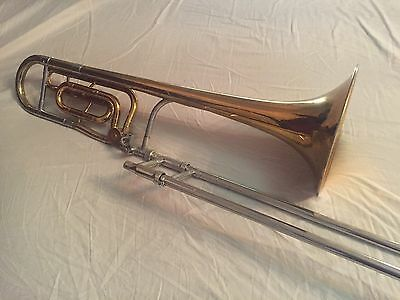 H.N. White King 3B-F Tenor Trombone (3B with f-attachment, 1960's Vintage)