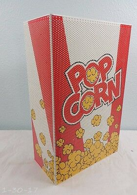 Retired Disney WDW All Star Resort Room Prop Popcorn Box Bag Light Issue #995136