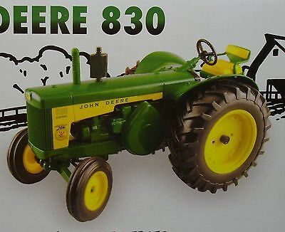 ERTL LIMITED EDITION JOHN DEERE TRACTOR - OHIO, 2007 - 10th IN THE SERIES - NEW
