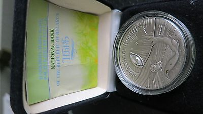Belarus 20 Rubles 2005  Proof Silver Coin & COA The Little Prince.