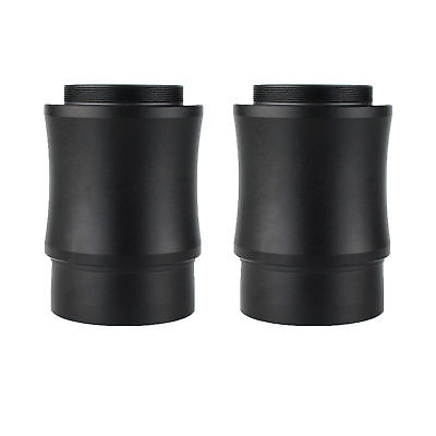 "2X New 2"" Extension Tube for 2-inch Telescope Eyepiece to T mount M42x0.75 Black"