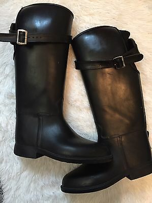 Dav Women's Black Knee High Black Boots Size 7