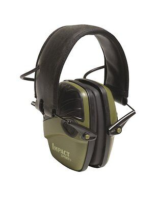 Howard Leight by Honeywell Impact Sport Sound Amplification Electronic Earmuff,