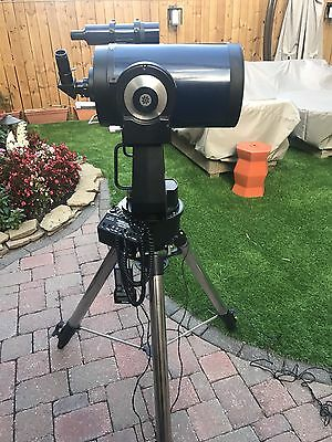 "meade 8 "" lx200 schmidt-cassegrain. with computarized tracking sustem."