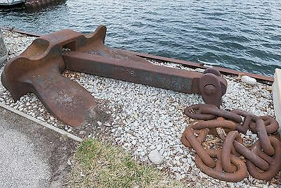 Antique Nautical Ship Anchor