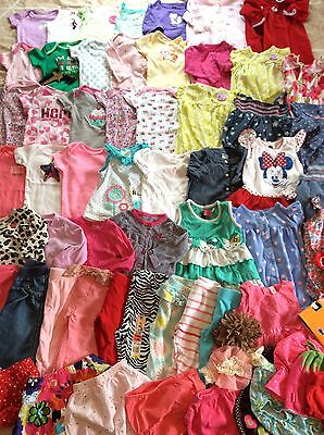 Lovely Summer Baby Girl Clothes Lot 3-6 Months 66 Pieces