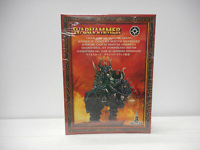 """Games Workshop Chaos  """"Lord On Demonic Mount""""   Warhammer - AOS - KOW"""