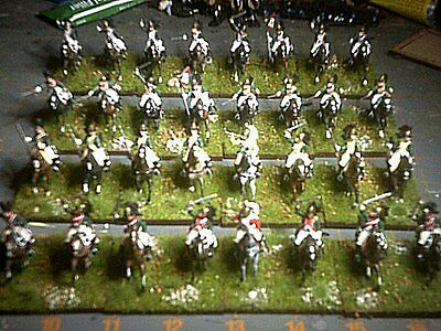 72nd Scale Napoleonic French Dragoons(Plastic)