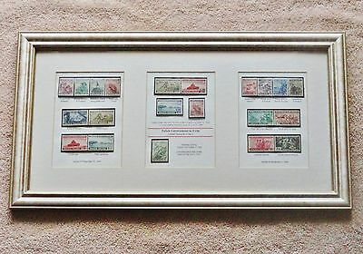 Polish Government in Exile, COMPLETE SET, FRAMED. Free shipping