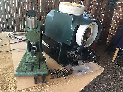 Newing Hall Model G - D Bit Cutter Grinder With Microscope