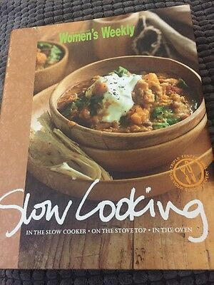 Slow Cooking by The Australian Women's Weekly BOOK Cookbook HC