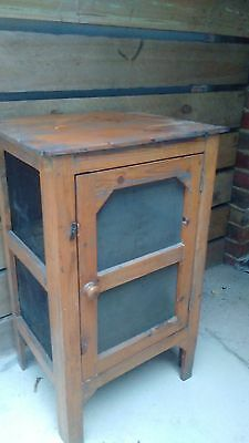 Timber/pine Meat Safe/cabinet