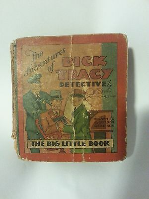 The Adventures of Dick Tracy The Big Little Book 1932 vintage