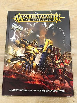 Warhammer Age Of Sigmar - Mighty Battles In An Age Of Unending War Book
