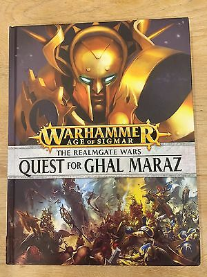 The Realmgate Wars: Quest for Ghal Maraz Book (Warhammer Age of Sigmar)