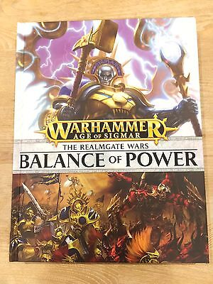The Realmgate Wars: Balance of Power Book (Warhammer Age of Sigmar)