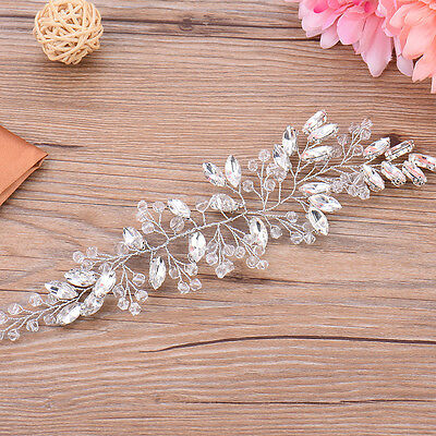 Wedding Bridal Bridesmaid Prom Crystal Rhinestone Hair Tiara Headband Headpiece