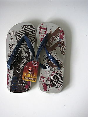 Disney Pirates of the Caribbean at World's End Flip Flops!  Perfect for summer.