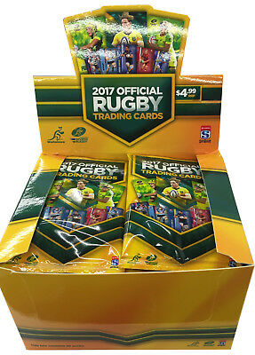 Rugby Trading Cards 2017 Display Box (36 packs)