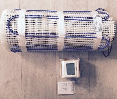under floor heating with thermostat