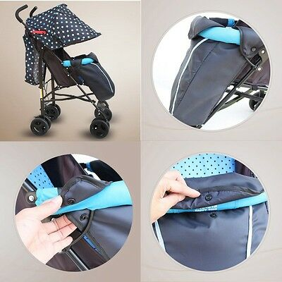 Universal Kid Carriage Footmuff Cozy Toes Fit Buggy Pushchair Stroller Pram Muff