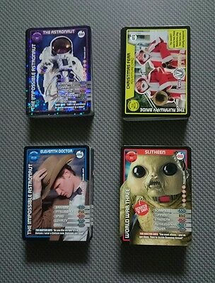 Dr Who Monster Invasion Cards, Play Mat and Huge Poster/Check List