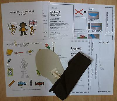 UK Brownie Guide Traditions Badge Pack - Help & Ideas Resource