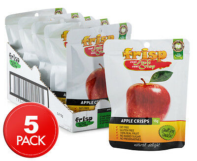 5 x Frisp Apple Crisps 15g