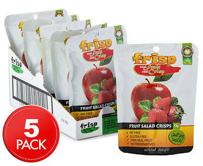 5 x Frisp Fruit Salad Crisps 15g