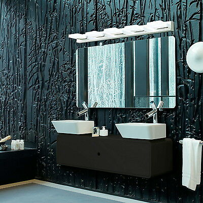 25W LED Integrated Modern Lamp Bathroom Mirror Lighting Front Wall Sconces