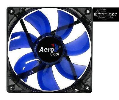 Aerocool Lightning Ventola da 120mm A Led Blue EN51394
