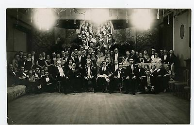 Social Gathering Kings Lynn c1930,real photo postcard