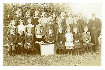 St Georges Road School Hull real photo postcard