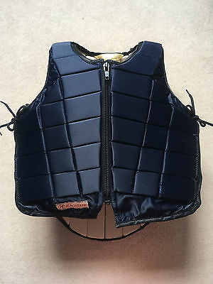 Racesafe RS2010 Body Back  Protector Childs XL Bodyprotector Navy Short back