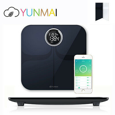YUNMAI Smart Body Fat Analyser Scales Bluetooth Bathroom Weighing Scale Wireless