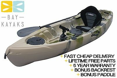 Volador Angler Pro - Sit On Top Fishing Kayak (bonus paddle + bonus backrest)