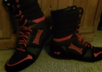 Lonsdale boxing boots size 9 uk used conce