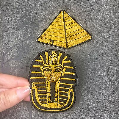 Egypt pyramid Phara patch golden patch embroidered iron on patch sew on patch