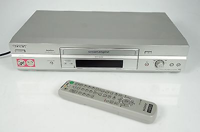 Sony Slv-Se740 Hifi Stereo Vhs Video-Recorder + Fb + Anleitung