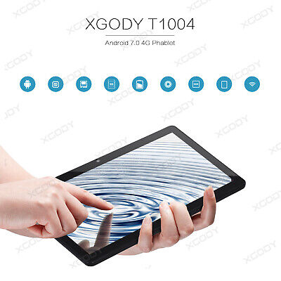 Tablet de 10 Pulgadas - Android 5.1 Quad Core 32 GB ROM 3G Dual SIM 2 GB RAM IPS