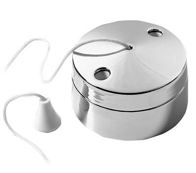 BG Polished Chrome Pull Cord / Pull Switch Light Switch for Bathrooms - 802CH