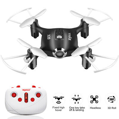 Syma X20 2.4G 4CH Headless RC Drone Pocket Helicopter Hover Altitude Hold UAV