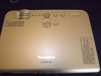 Panasonic PT-LB50NT Portable Wireless LCD Projector