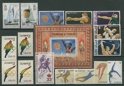 Olympiade 1976, Olympic Games - LOT - ** MNH