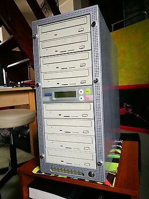 ACARD 1 to 7 CD/DVD Tower Stand Alone Duplicator COPIER BURNER