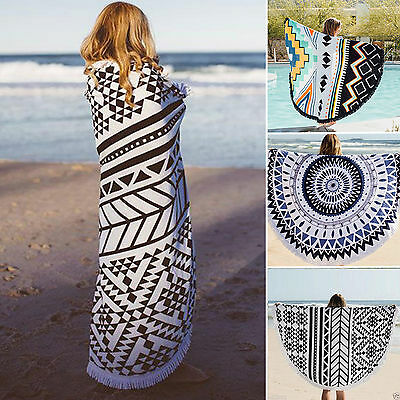 Indian Round Mandala Hippie Boho Beach Towel Tapestry Picnic Blanket Throw Gypsy