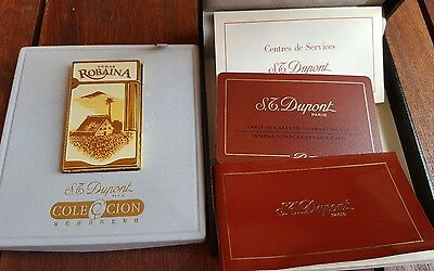S. T. Dupont limited edition Vegas Robainas