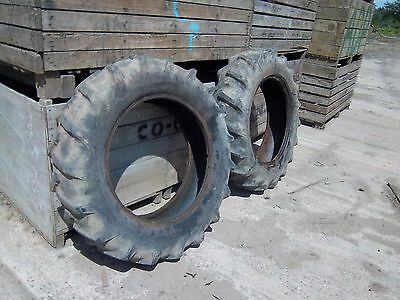 Tractor Rear Tyres Pair Size 12/11/28